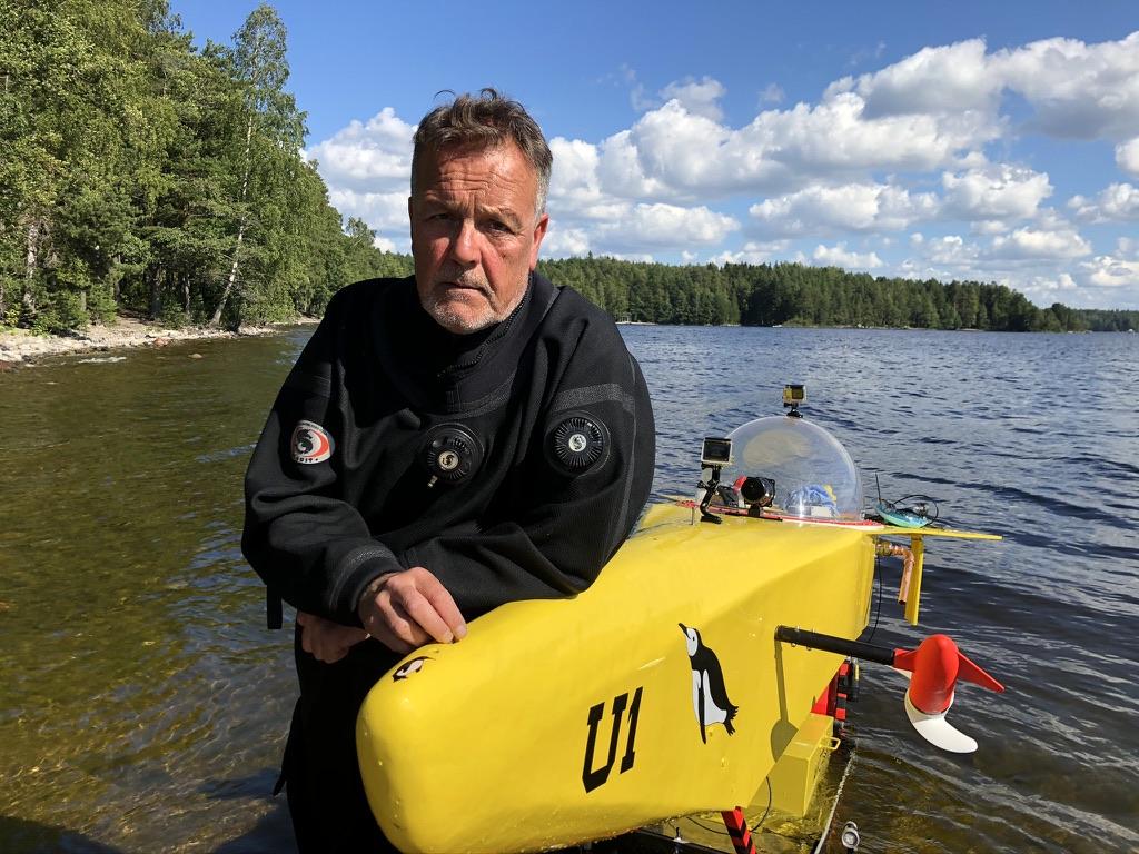 Pingvin U-1 50v vesillelasku